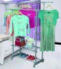 clothes rack-double pole and double deck