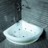 FS-B09 Corner Acrylic Massage Bathtub