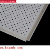 Perforated aluminum ceiling tile