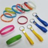 colorful silicone wristband/ silicone bracelet