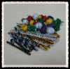tinsel chenille pipe cleaner ,glitter stems