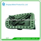 Tin ancient and nylon finish alloy buckle