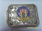 lady fashtion metal belt buckle