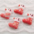 2012 new high quality resin plastic christmas boots