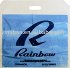 Punch handle multi color printed LDPE/HDPE EPI Plastic Bag