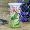 "8.5"" hand painted flower vase 1002F1-5"