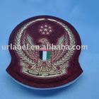 New design for Garment Red Felt Embossed label