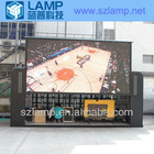 led video screen onto a truck