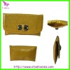 plain clutch bag wholesale with beautiful yellow KPR12041824A