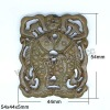 Chinese Carving pendant fish design pendant
