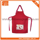 Little fashion girl cute small giraffe apron