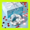 Choice Crystal Heart Shaped Diamond Paperweight Favor