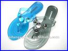 2013 Hotsale design fashion PVC slipper sandal SFYR-SL9501