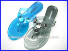 2013 Hotsale design fashion PVC slipper sandal SFYR-SL9501