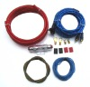 8ga kits Car Audio AMP wiring kit 8 Gauge car amplifier kits