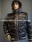2011 latest fashion men's padded jacket