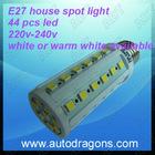 220V-240V E27 spot house led light with 44 pcs 5050 smd