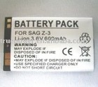 Mobile Phone Battery for SAG Z-3