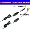 2.4Ghz Wireless Car Camera Video Transmitter and Receiver