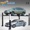 Four-post parking garage