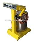 electrostatic powder spray machine with spray gun