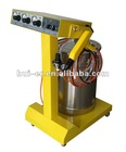 electrostatic powder spray machine with spray gun