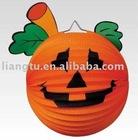 hallowmas lantern,paper lantern,hallowmas decoration,decoration lantern,Jack-O-Lantern