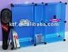 DIY study storage cabinet