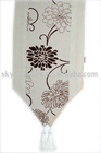 flocking table runner/table cloth