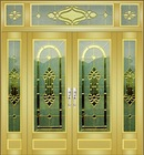 Interior aluminum door ,glass door