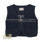 Fashion cheap black vest for men