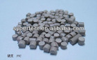PVC pipe material PVC in rubber and plastic rigid pvc granule grey color for pipe and profile