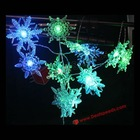 Snowflake Christmas Lights String/Snowflake LED String Lights/LED String Lights