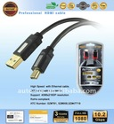 usb 2.0 AM to MINI with gold plate connector (UN2011B)