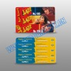 pvc prepaid card