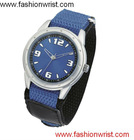 Fashion Nylon Cotton Strap Band Watch