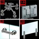 Sanhe Glass Shower hinge, spider fitting , sliding door, swing door , spigot , pipe fittings