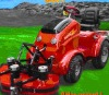 electric power riding on mower