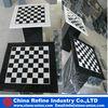 Stone Checkerboard Table
