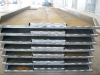 steel plate, fabricated steel plate, welded plate