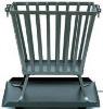 Steel fire basket DX-P101 with high temprature black paint finish