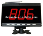 Restaurang Service Paging System, Front desk control station, LCD display receiver