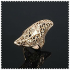 Fashion jewelry crystal gold ring designs for men