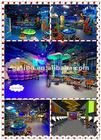 GM decoration of indoor game center, indoor playground equipment, kids amusement park equipment