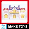 5 Plastic Toy Doll House Play Set