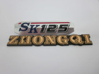 logo metal emblem metal sticker