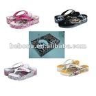 women eva slipper shoes stock