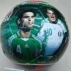 shiny PVC allover printing soccer ball