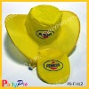 Polyester folding hat for promotion