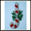 christmas the candy canes applique